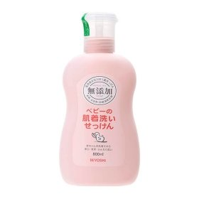 Жидкое мыло для стирки Miyoshi Additive Free Laundry Liquid Soap (For Babies)