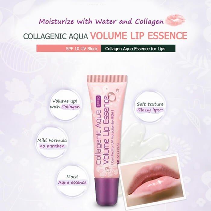 Бальзам для губ Mizon Collagenic Aqua Volume Lip Essence