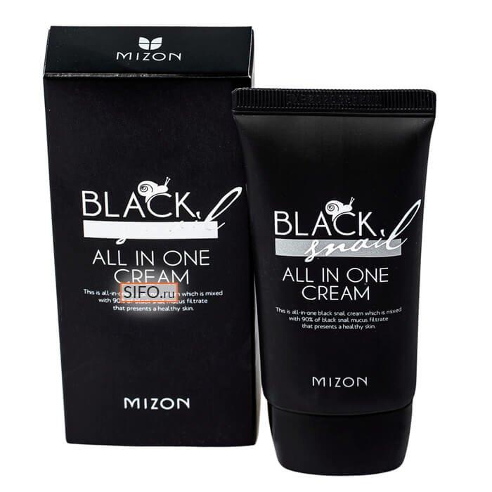 Крем для лица Mizon Black Snail All In One Cream (Tube)