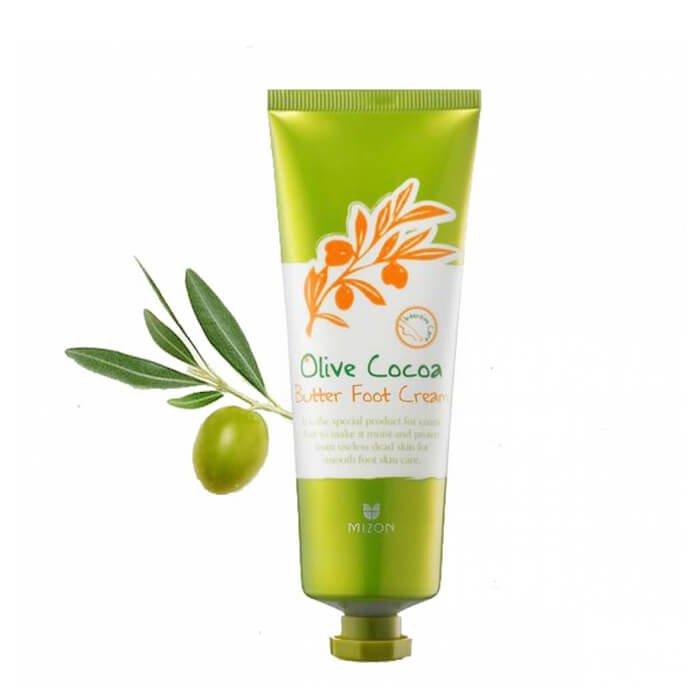 Крем для ног Mizon Olive Cocoa Butter Foot Cream