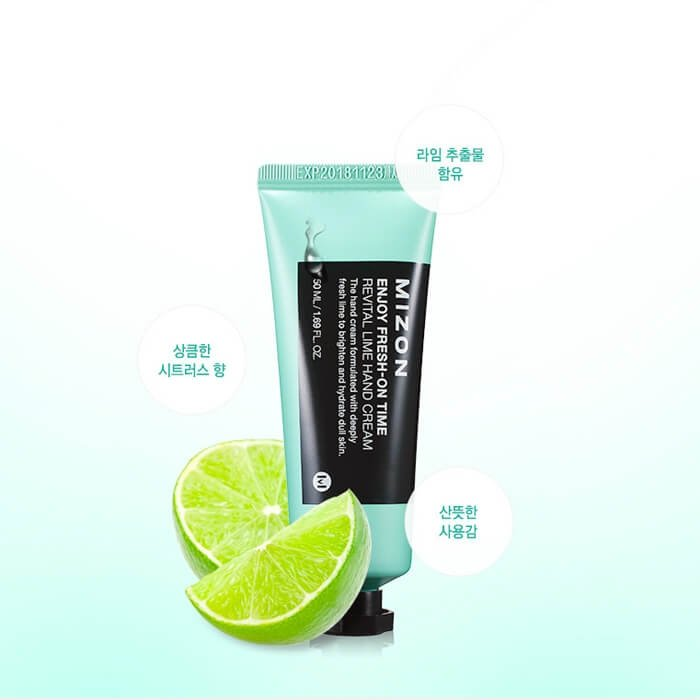 Крем для рук Mizon Revital Lime Hand Cream