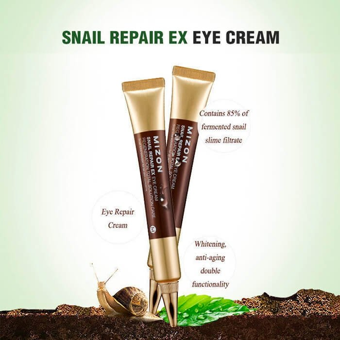 Крем для век Mizon Snail Repair EX Eye Cream