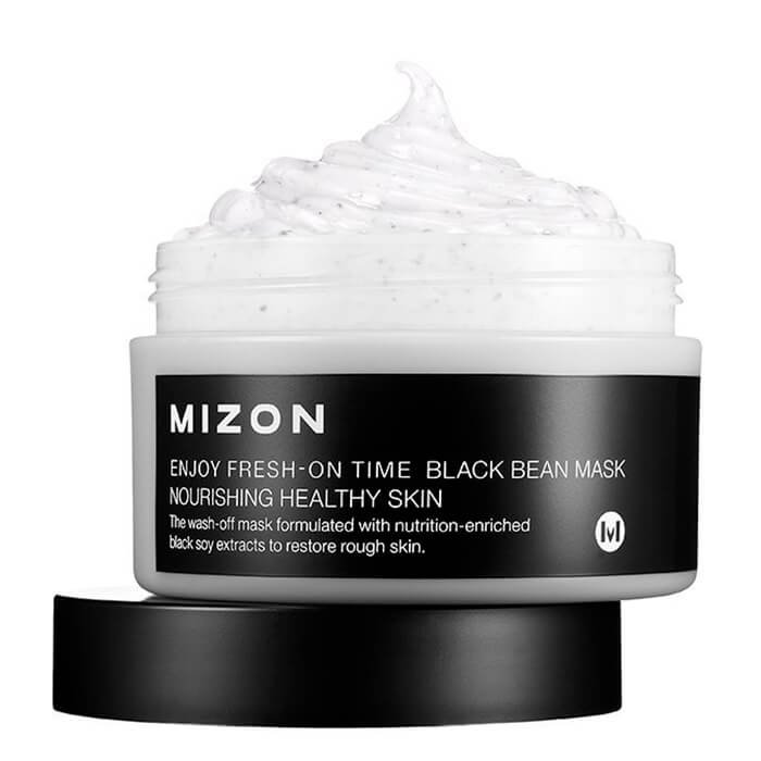 Маска для лица Mizon Enjoy Fresh-On Time Black Bean Mask