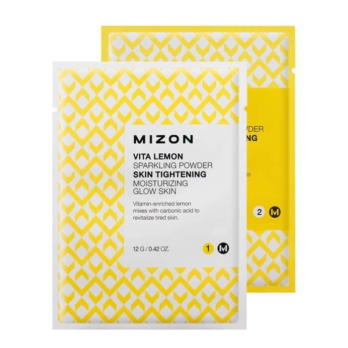 Очищающая пудра Mizon Vita Lemon Sparkling Powder