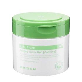 Очищающие диски Mizon Pore Fresh Peeling Toner Pad Calming