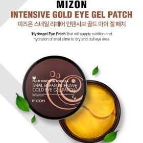 Патчи для век Mizon Snail Repair Intensive Gold Eye Gel Patch