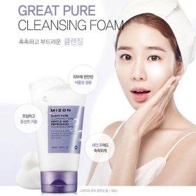 Пенка для умывания Mizon Great Pure Cleansing Foam