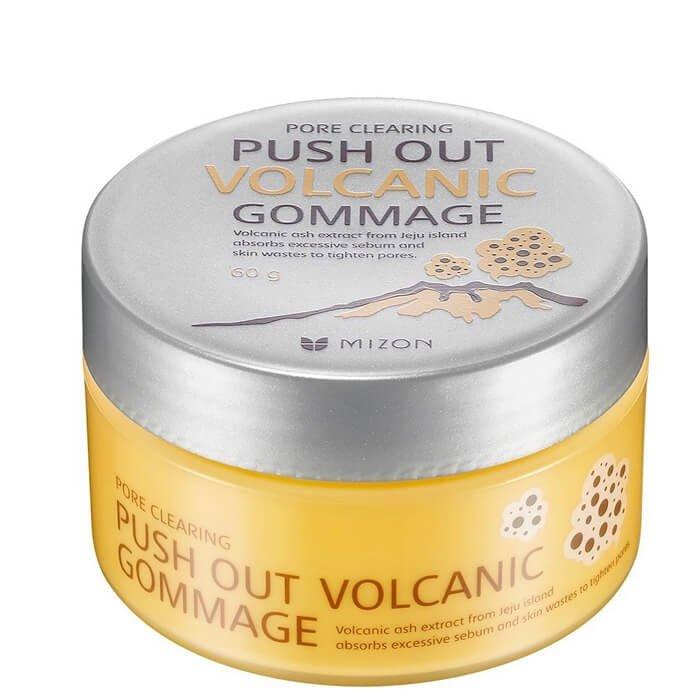 Пилинг для лица Mizon Push Out Volcanic Gommage