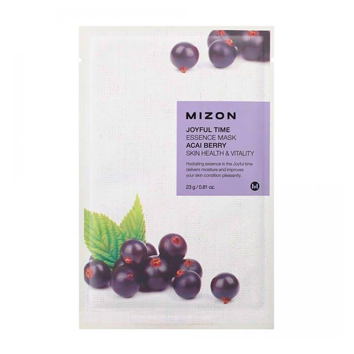 Тканевая маска Mizon Joyful Time Essence Mask - Acai Berry
