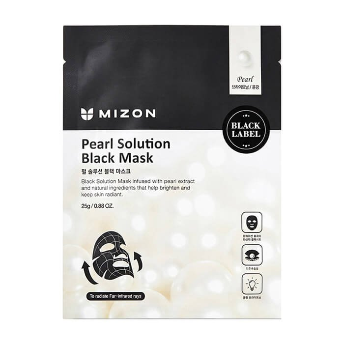 Тканевая маска Mizon Pearl Solution Black Mask