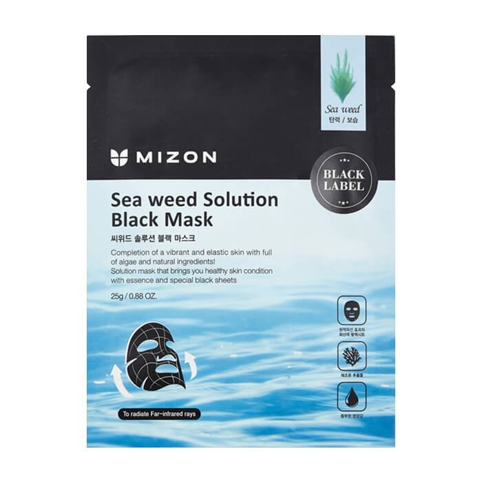 Тканевая маска Mizon Sea Weed Solution Black Mask