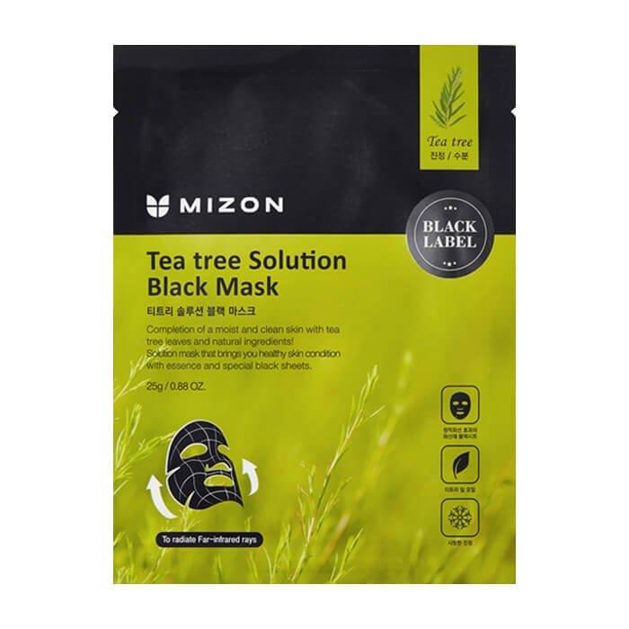 Тканевая маска Mizon Tea Tree Solution Black Mask