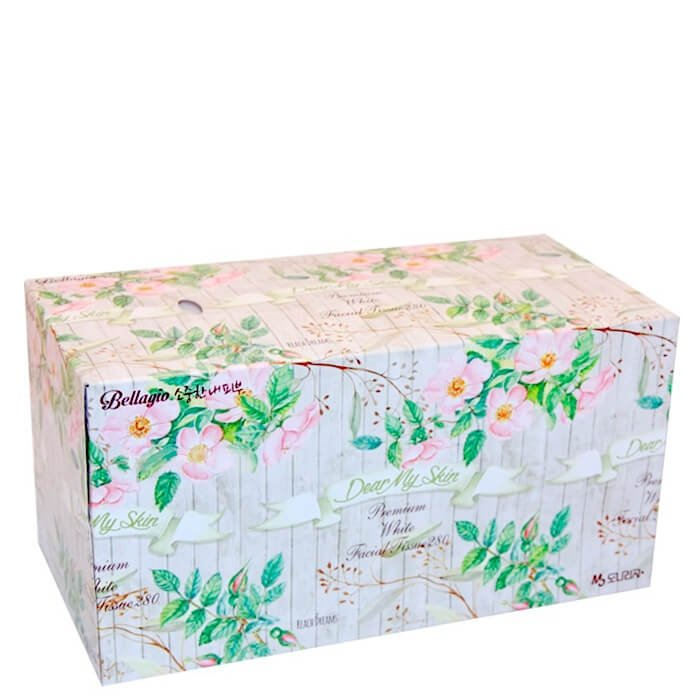 Салфетки для лица Monalisa Bellagio Flower Garden Facial Tissue 280 шт.