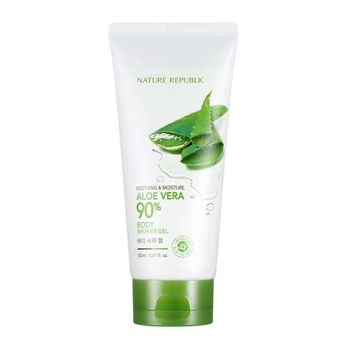 Гель для душа Nature Republic Soothing & Moisture Aloe Vera 90% Body Shower Gel
