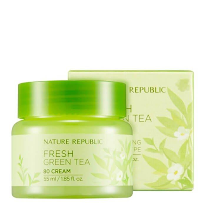 Крем для лица Nature Republic Fresh Green Tea 80 Cream