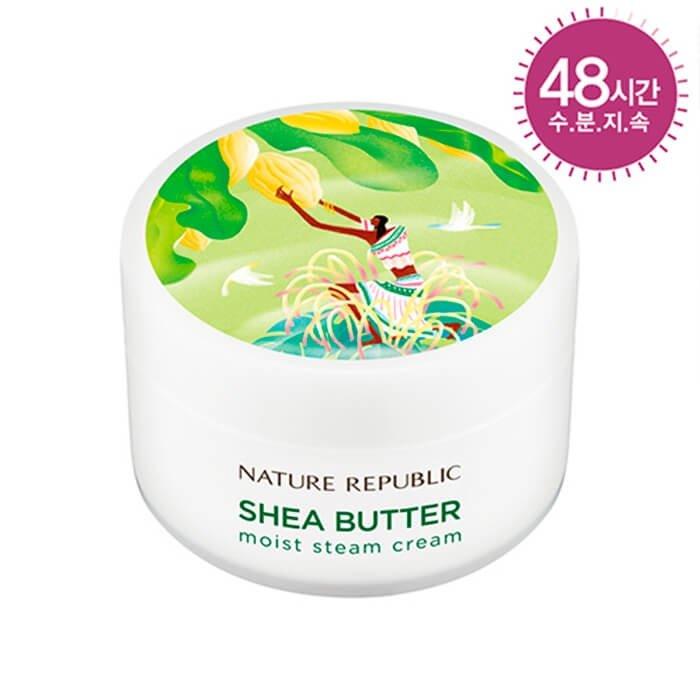 Крем для лица Nature Republic Shea Butter Moist Steam Cream