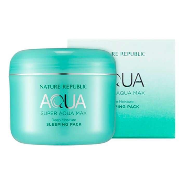 Ночная маска Nature Republic Super Aqua Max Combination Watery Sleeping Pack