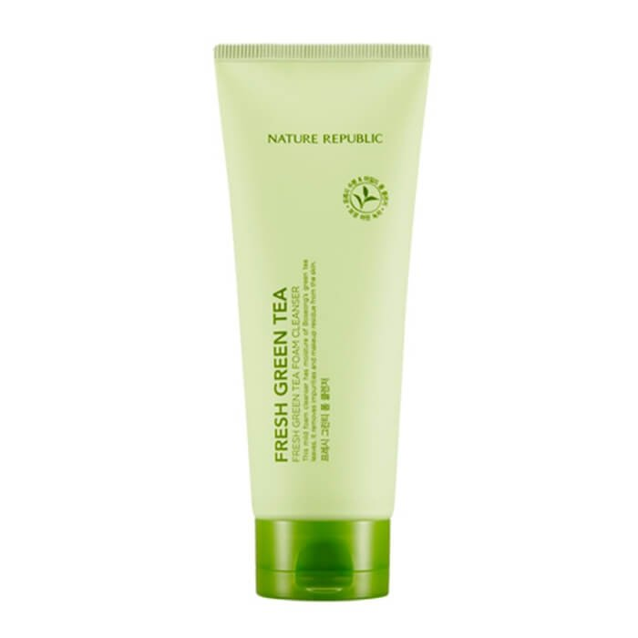 Очищающая пенка Nature Republic Fresh Green Tea Foam Cleanser