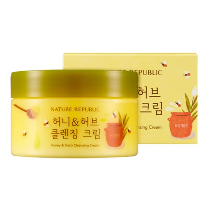Очищающий крем Nature Republic Honey & Herb Cleansing Cream
