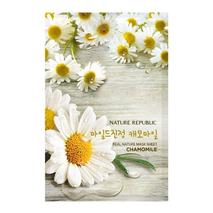 Тканевая маска Nature Republic Real Nature Mask Sheet Chamomile