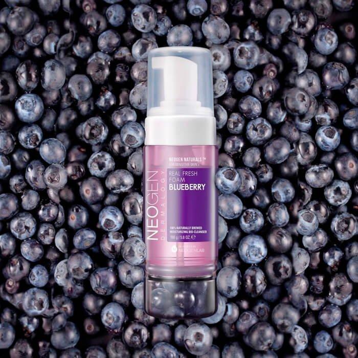 Очищающая пенка Neogen Dermalogy Real Fresh Foam - Blueberry