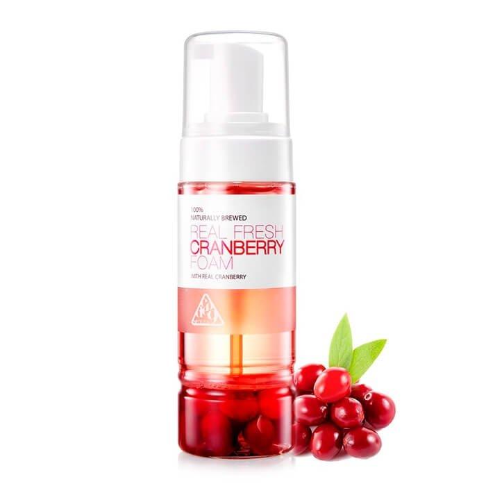 Очищающая пенка Neogen Dermalogy Real Fresh Foam - Cranberry