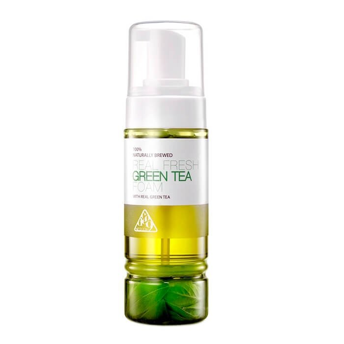 Очищающая пенка Neogen Dermalogy Real Fresh Foam - Green Tea