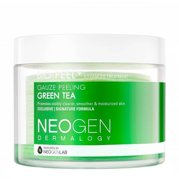 Пилинговые диски Neogen Dermalogy Bio Peel Gauze Peeling - Green Tea