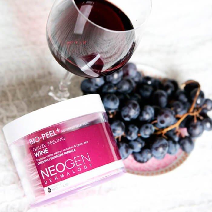 Пилинговые диски Neogen Dermalogy Bio Peel Gauze Peeling - Wine