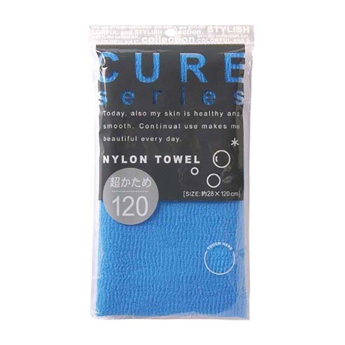 Мочалка для душа ОН:Е Cure Nylon Towel Super Hard (Blue)