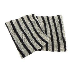 Мочалка для душа ОН:Е Mono Body Towel (в полоску, средней жёсткости)