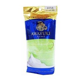 Мочалка для душа ОН:Е Awayuki Body Towel (зелёная, жёсткая)