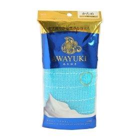 Мочалка для душа ОН:Е Awayuki Body Towel (голубая, сверхжёсткая)