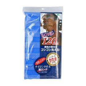 Мочалка для душа ОН:Е Long Nylon Towel Super Hard (Blue)