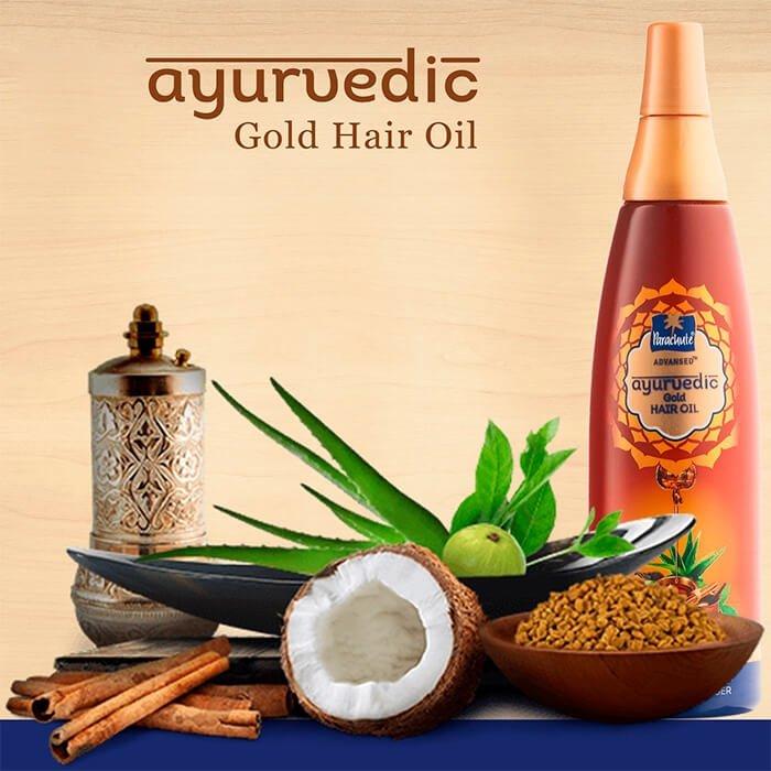 Масло для волос Parachute Advansed Ayurvedic Gold Hair Oil