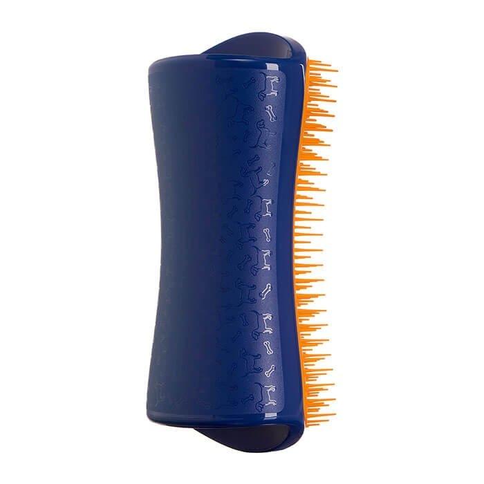 Расческа для собак Pet Teezer Detangling & Dog Grooming Brush Navy & Orange