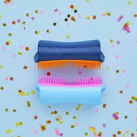 Расческа для собак Pet Teezer De-shedding & Dog Grooming Brush Pink & Blue