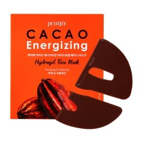 Гидрогелевая маска Petitfee Cacao Energizing Hydrogel Face Mask