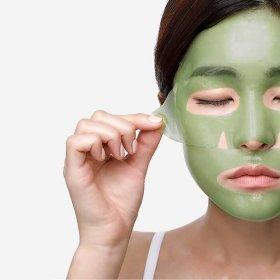 Гидрогелевая маска Petitfee Artichoke Soothing Hydrogel Face Mask