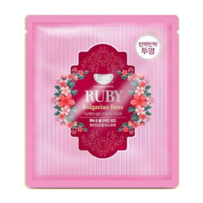 Гидрогелевая маска Koelf Ruby & Bulgarian Rose Hydrogel Mask Pack