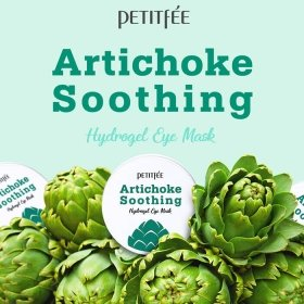 Патчи для глаз Petitfee Artichoke Soothing Hydrogel Eye Mask