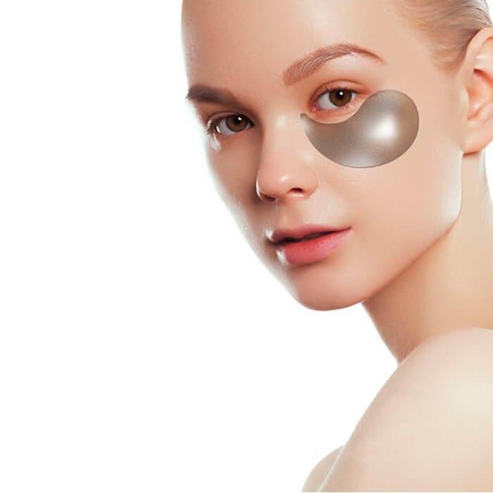 Патчи для глаз Petitfee Black Pearl & Gold Hydrogel Eye Patch