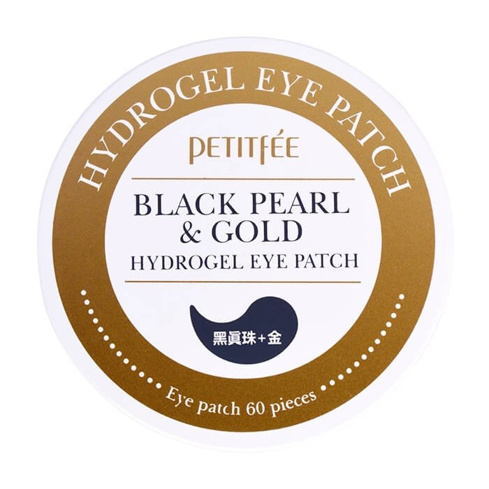 Патчи для глаз Petitfee Black Pearl & Gold Hydrogel Eye Patch