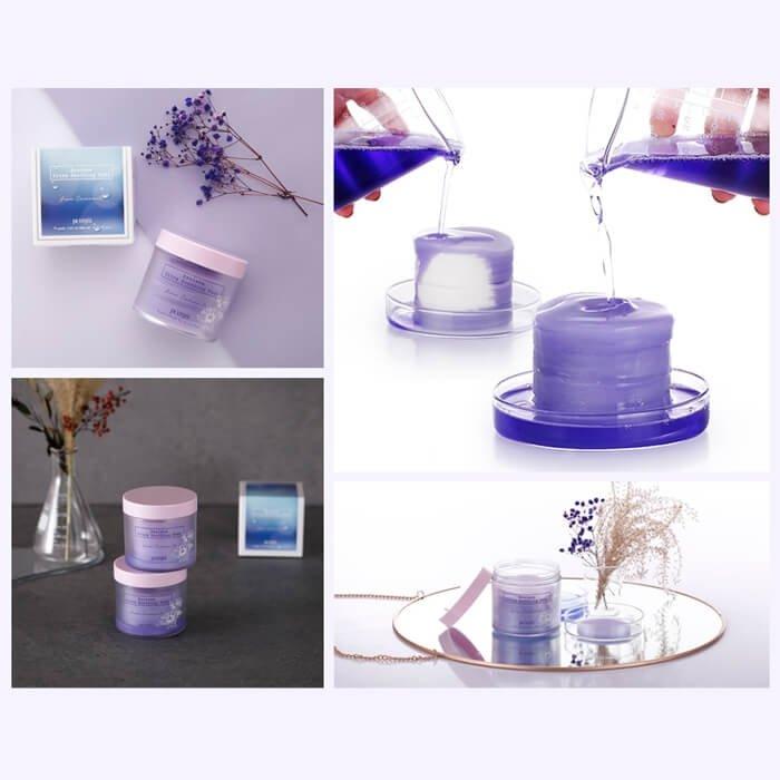 Успокаивающие диски Petitfee Azulene Ultra Soothing Pads