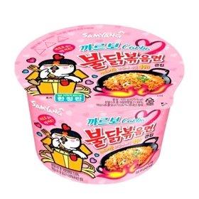 Лапша быстрого приготовления Samyang Hot Chicken Flavor Ramen Carbo (105 г)