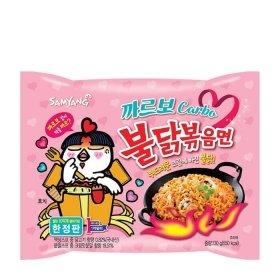 Лапша быстрого приготовления Samyang Hot Chicken Flavor Ramen Carbo (130 г)