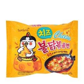 Лапша быстрого приготовления Samyang Hot Chicken Flavor Ramen Cheese (140 г)