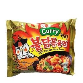 Лапша быстрого приготовления Samyang Hot Chicken Flavor Ramen Curry