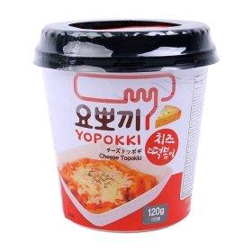 Рисовые клёцки токпокки Young Poong Cheese Topokki (120 г)