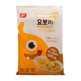Рисовые клёцки токпокки Young Poong Golden Onion Butter Topokki (240 г)